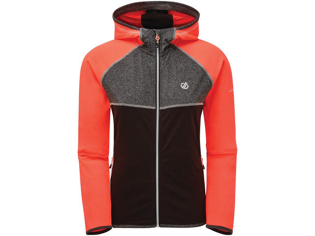 Dare 2b Courteous II Coral Stretch Jacket Women fiery coral/black/charcoal grey marl